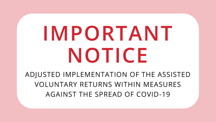 Important notice – Covid-19